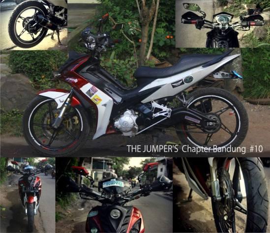 Modifikasi Jupiter MX 135 LC Agustus 2013